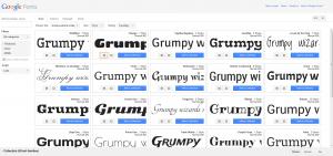 Google Web Font sous WordPress-2