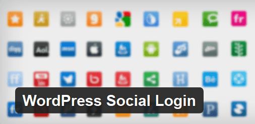 réseaux sociaux comme profil utilisateur Wordpress